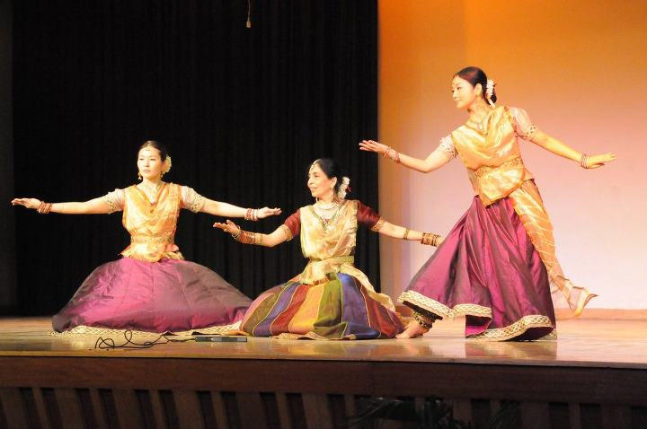 Kathak performance in India